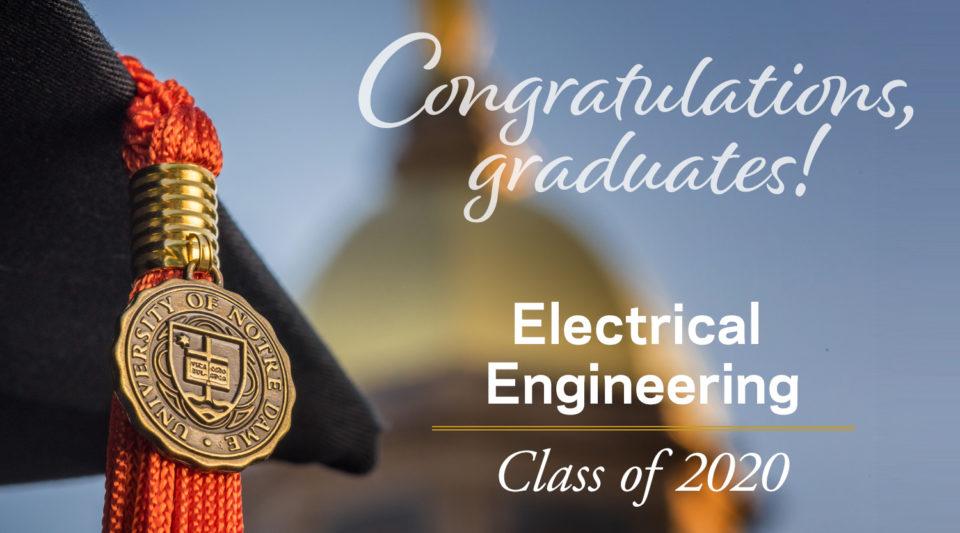 Congratulations EE 2020 Graduates